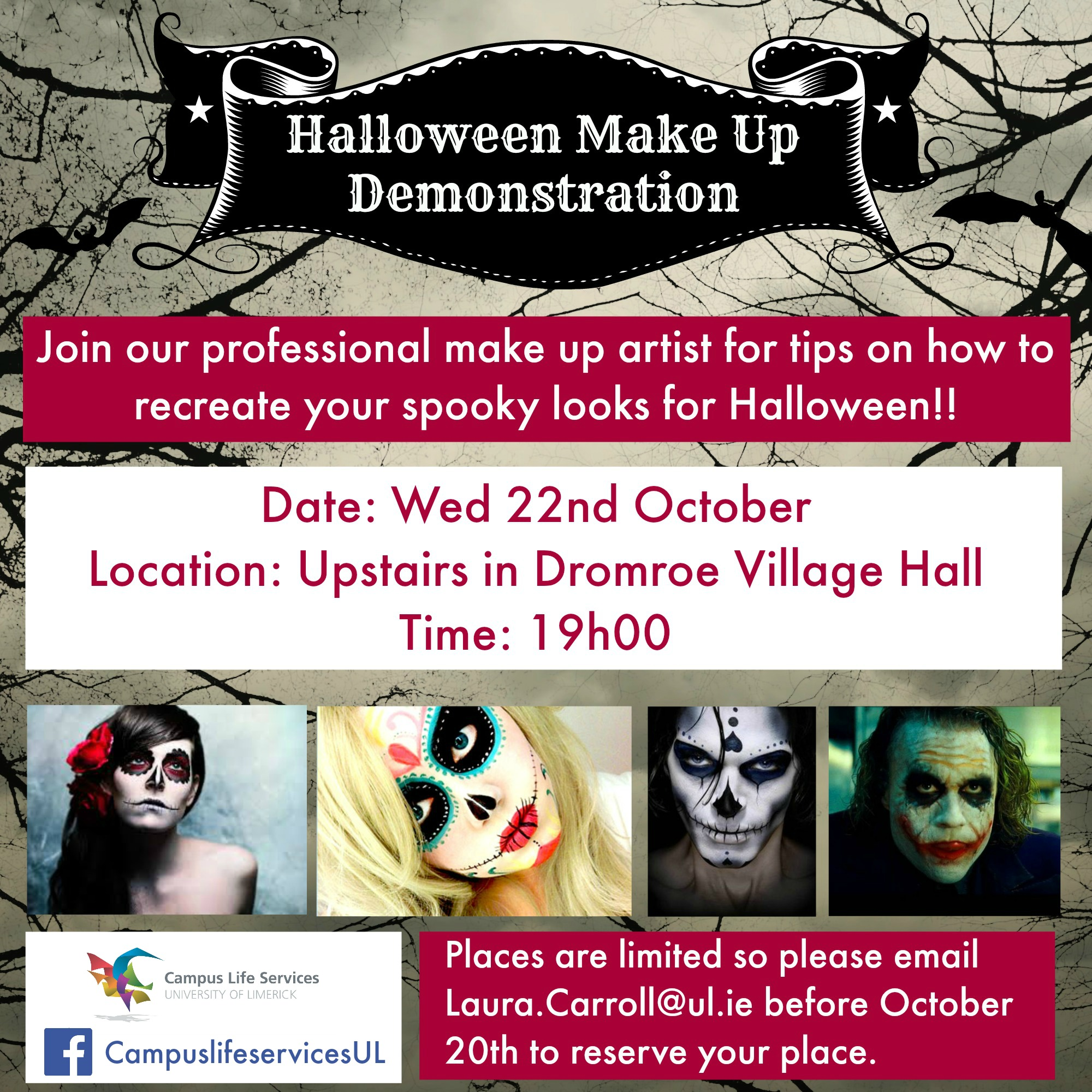 Halloween Make-up Demonstration