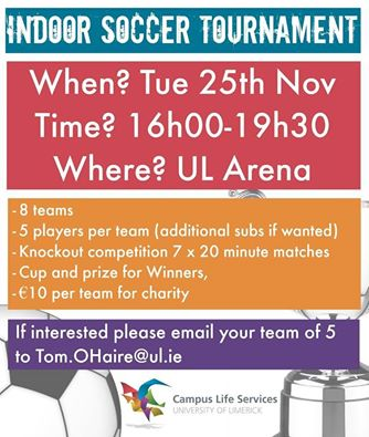 Indoor Soccer Tournament