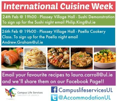 International Cuisine Week