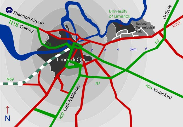 Limerick Map